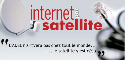 Internet par satellite