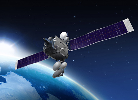 Hylas 2 Satellite