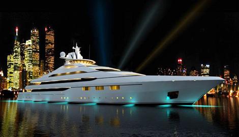 Internet Par Satellite Pour Les Yachts De Luxe